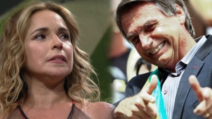 Presidente Jair Bolsonaro responde Daniela Mercury