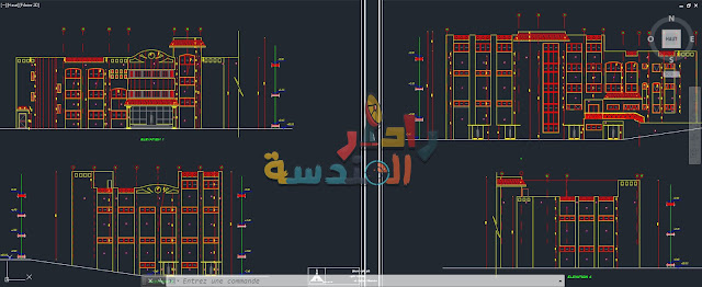 تحميل ملف أوتوكاد لــ مشروع قسم مصنع الورق Dwg