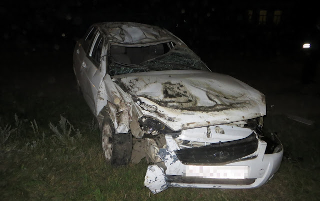 В Башкирии девочка на квадроцикле попала в аварию