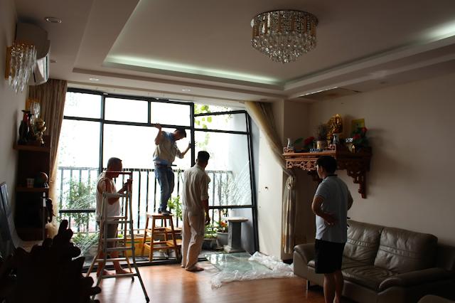 sơn sửa lại căn hộ chung cư tại quận Bình Thạnh