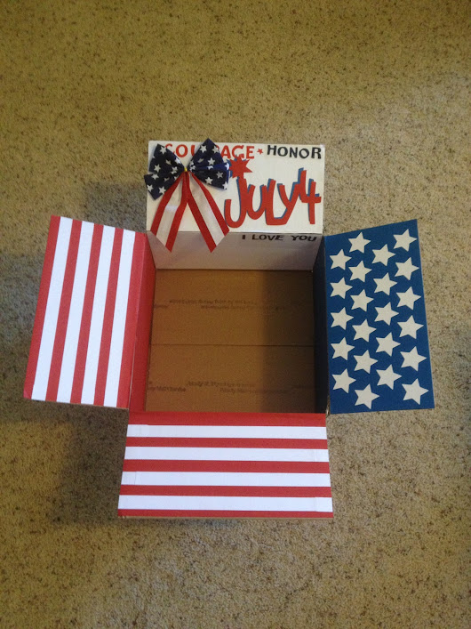 Care Package #11: Fourth of July