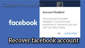 How To Recover Disabled Facebook Account in 2019
