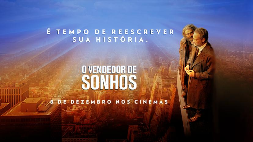 """Baseado na obra de Augusto Cury, """"O Vendedor de Sonhos"""" tem 1º trailer divulgado"""