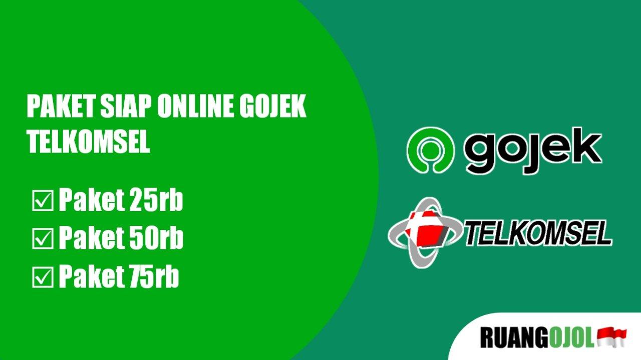 paket gojek siap online telkomsel
