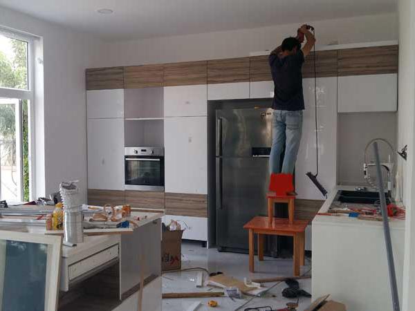 Sơn sửa lại căn hộ chung cư tại quận 8 uy tín