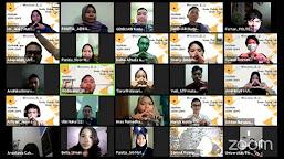 Webinar Desain Grafis, Pemateri: Desainer Juga Perlu Riset