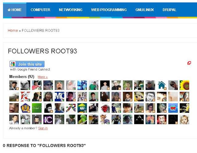 Memindahkan widget Followers ke Laman Blog