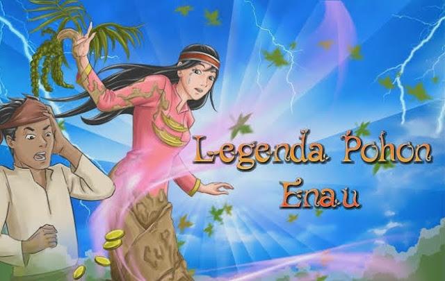 Kisah Putri Sedaro Putih – Asal Mula Pohon Aren (Legenda Bengkulu)
