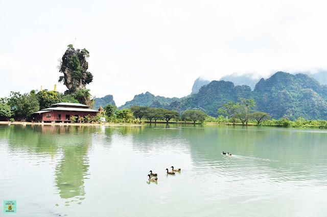 Kyaut Ka Latt Pagoda, Hpa An