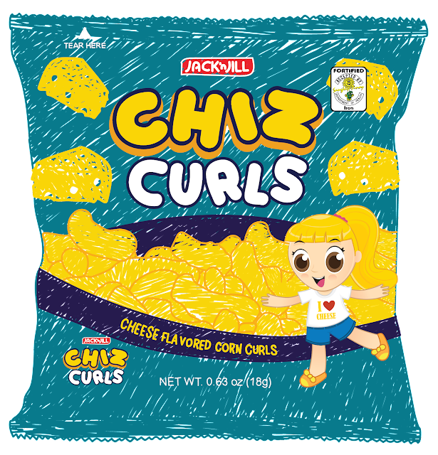 Chiz Curls is URC's first branded snack product