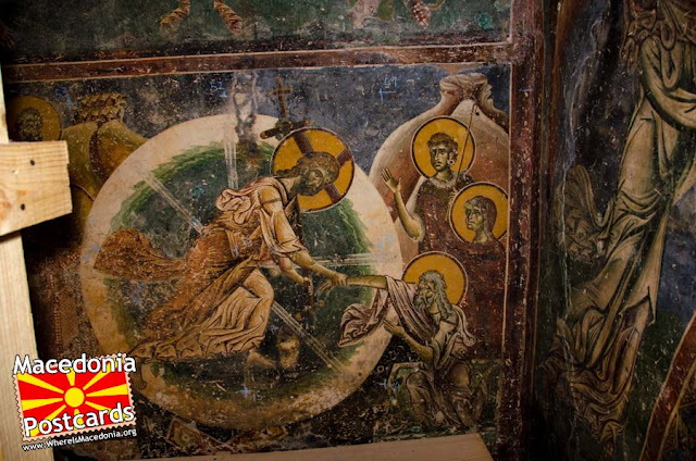 St. George church, Kurbinovo village, Resen municipality, Macedonia