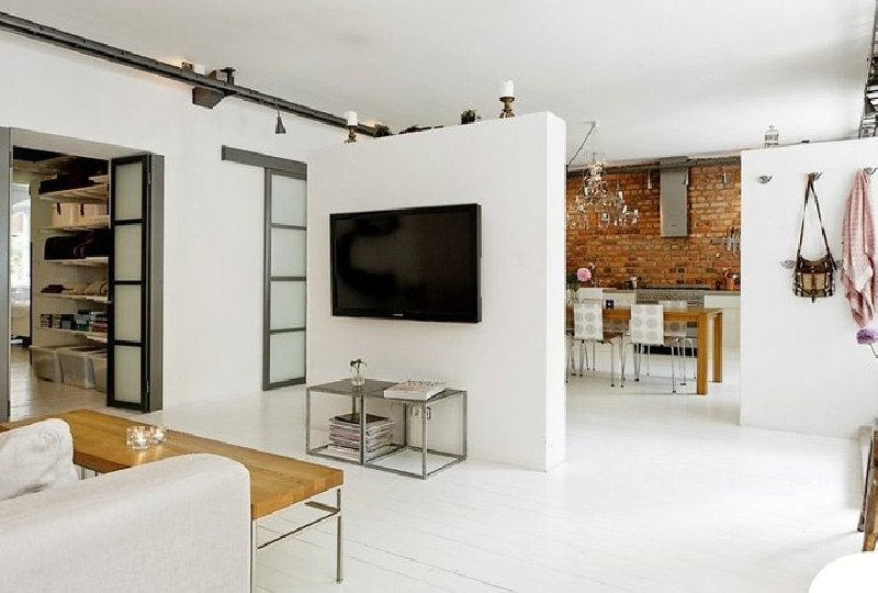 Separare visivamente la cucina dal living dettagli home for Idee cucina living