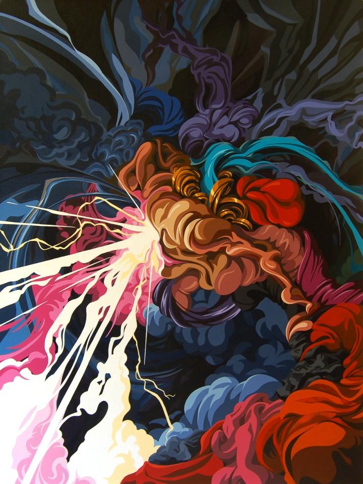 James Roper. Абстрактные картины 17