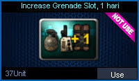 Increase Grenade Slot