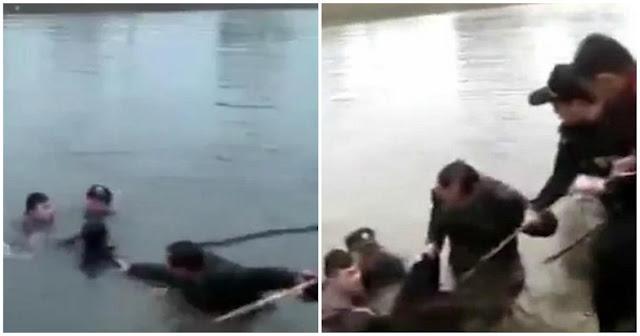 Μάνα έπεσε σε ποτάμι και πνίγηκε επειδή η αρραβωνιαστικιά του γιου της ήταν κοντή