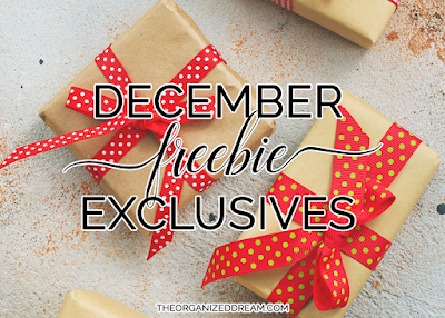 December freebie exclusives! Join now to get yours while they're still available!     #freebies #december #christmas #plannergirl