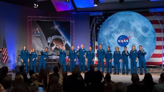 NASA ESCOLHE 11 ASTRONAUTAS PARA MISSÕES RUMO A ISS, LUA E MARTE