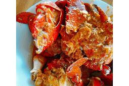Kepiting Papua Saos Padang