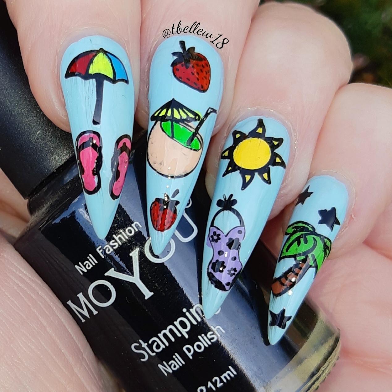 Bite No More: Moyou Nails