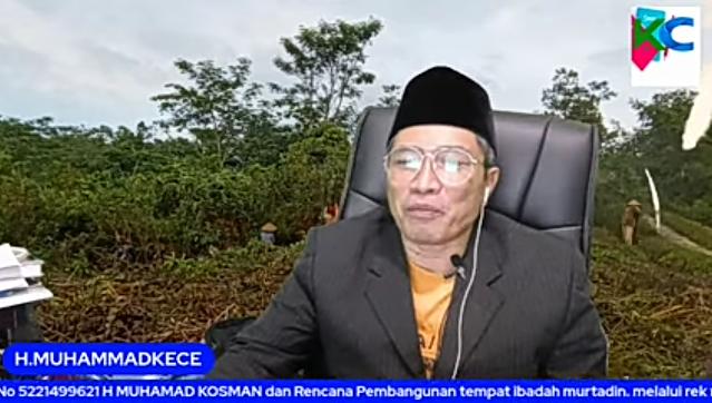 Profil Muhammad Kece, Bernama Asli Kosman, Murtadkan Banyak Warga