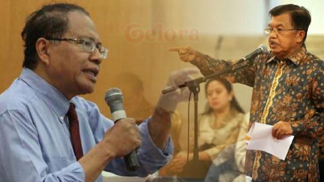 Berseteru, Rizal Ramli Sebut JK Si Peng-peng Pembuat Gusar Dua Presiden