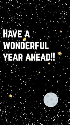 Have A Wonderful Year Ahead.
