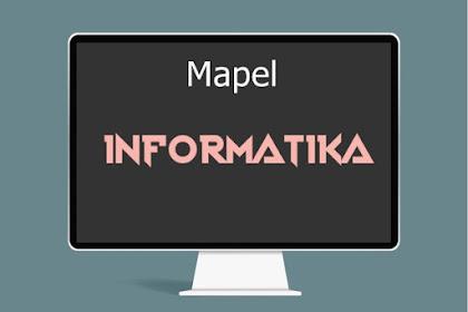 RPP Mapel Informatika Kelas 8