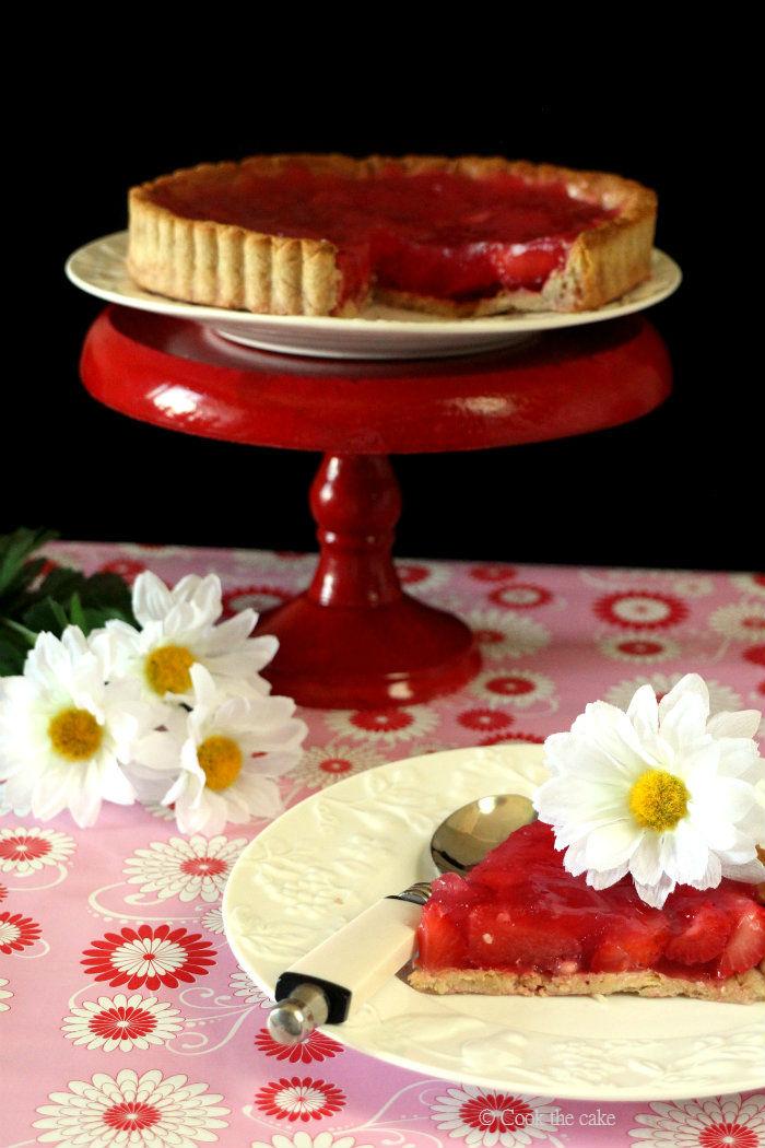 strawberry-pie, tarta-de-fresas