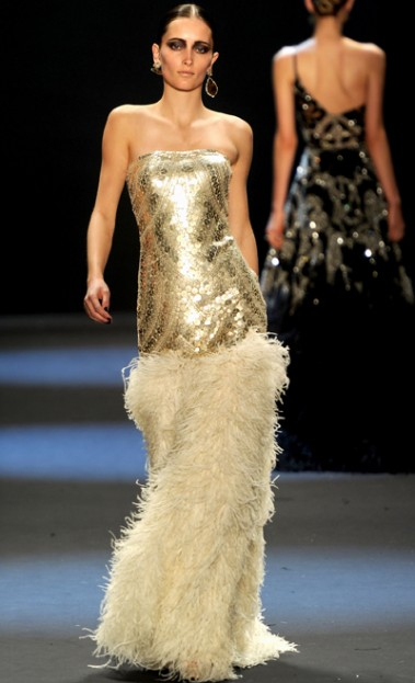 Gold Dress Naeem Khan Has You Covered
