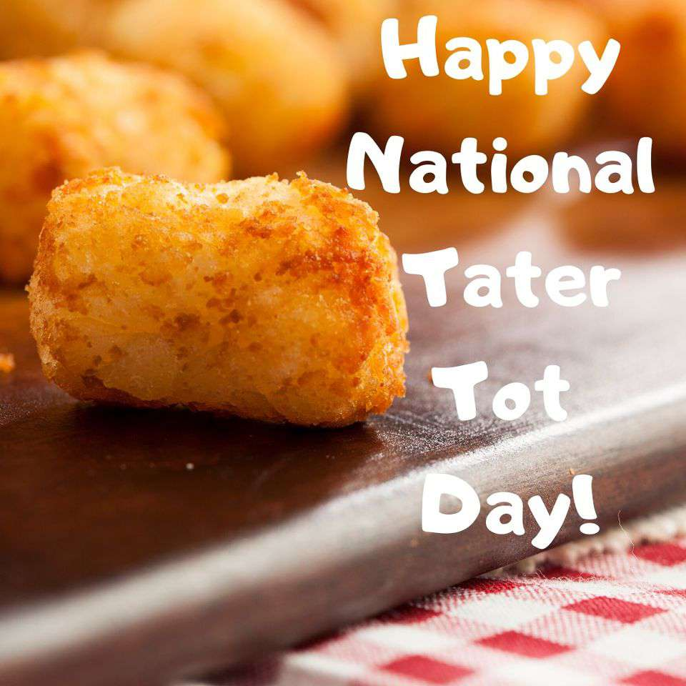 National Tater Tot Day Wishes Pics