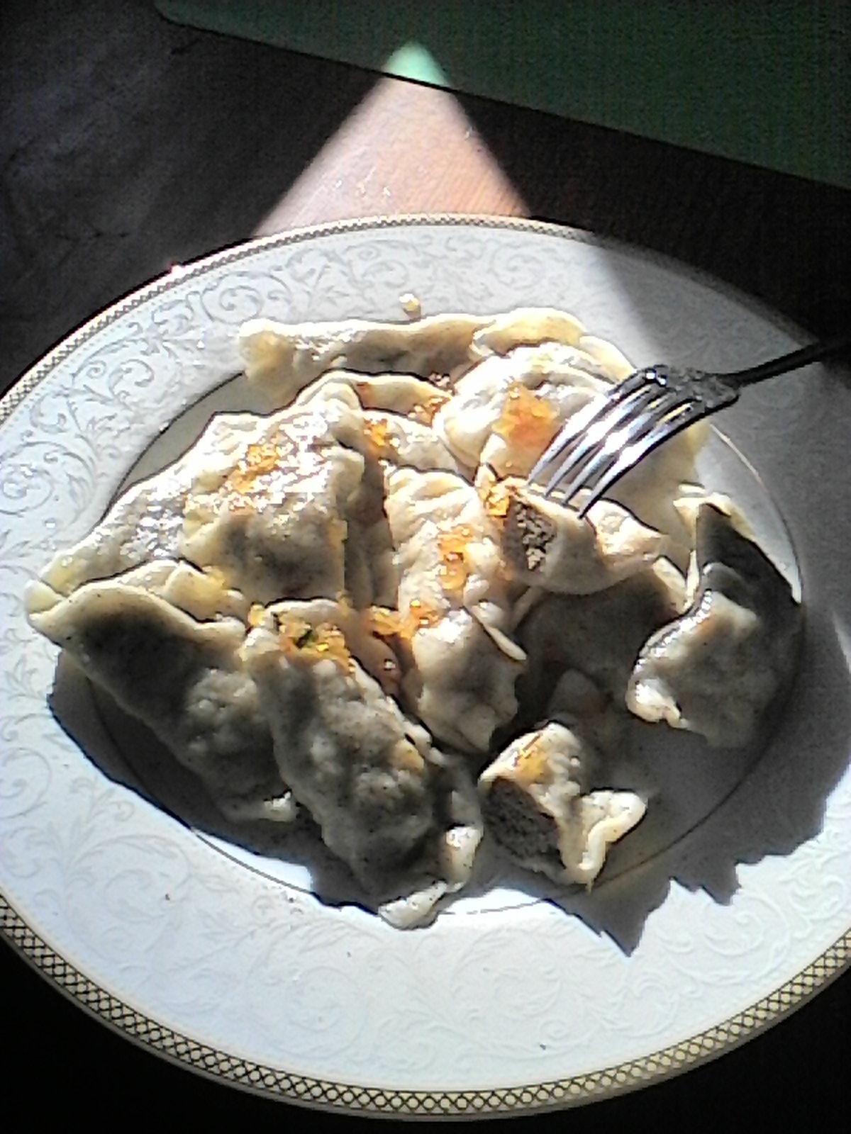 Moja Kuchnia Pachnaca Barszczem Pierogi Z Watrobka