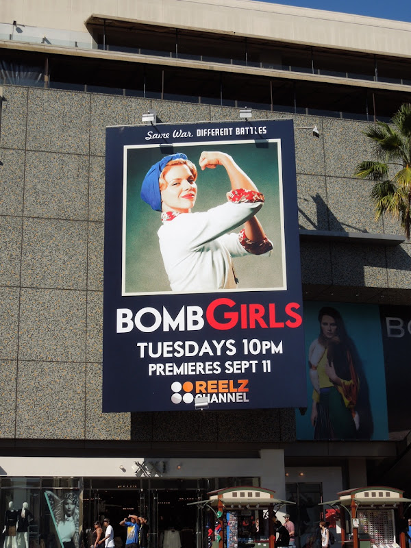 Bomb Girls season 1 US billboard