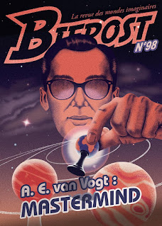 La couverture du Bifrost n°98, illustrée par Célia Teboul