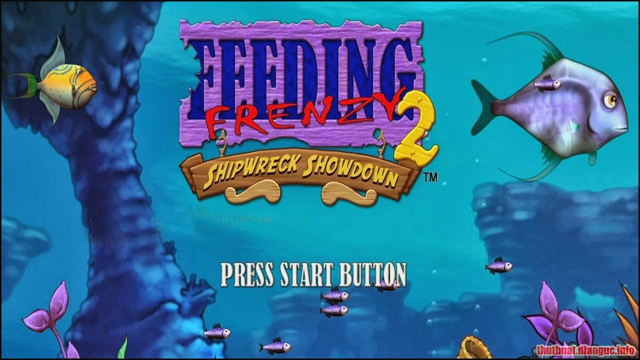 Download Game Feeding Frenzy 2 Full Crack