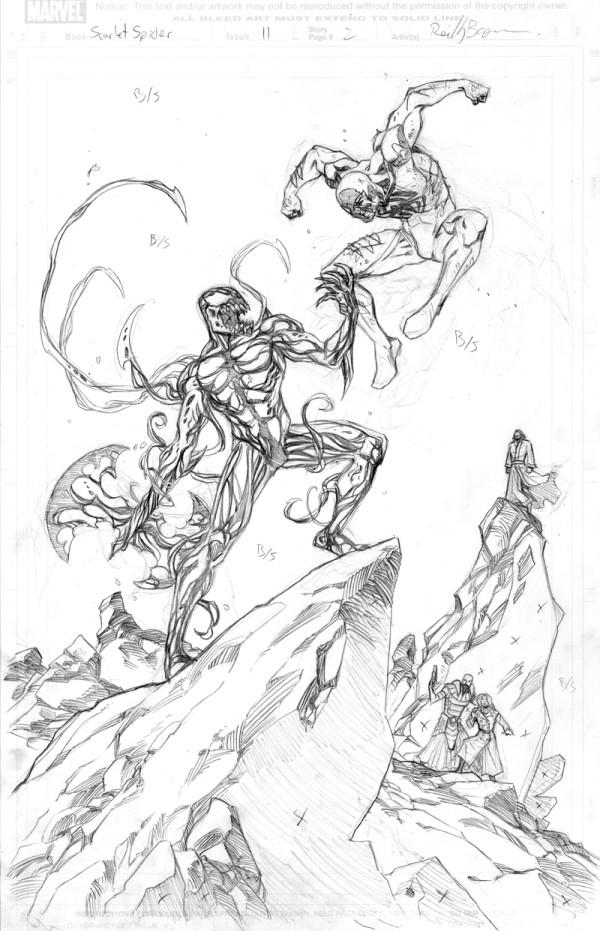 The Venom Site Minimum Carnage Sketch
