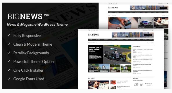 BigNews Theme Wordpress