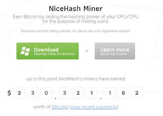 NiceHash Miner - Homepage1
