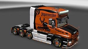 Jägermeister skin for Scania T