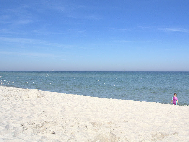 plaże w Jastarni, jak wyglądają poza sezonem