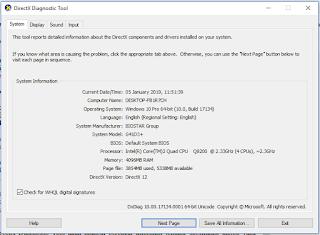 cara mengetahui total RAM di laptop