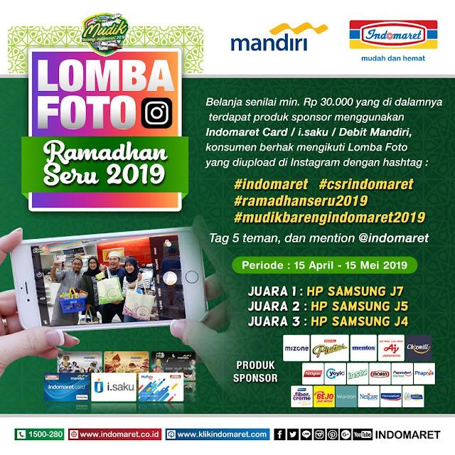 #Indonesia - #Promo Lomba Foto Ramadhan Seru 2019 (s.d 15 Mei 2019)