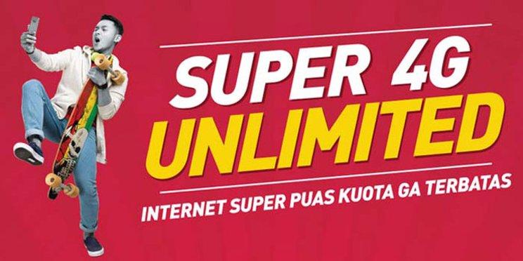 Smartfren Paket 4G Unlimited