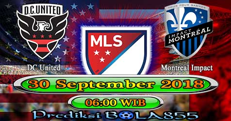 Prediksi Bola855 DC United vs Montreal Impact 30 September 2018