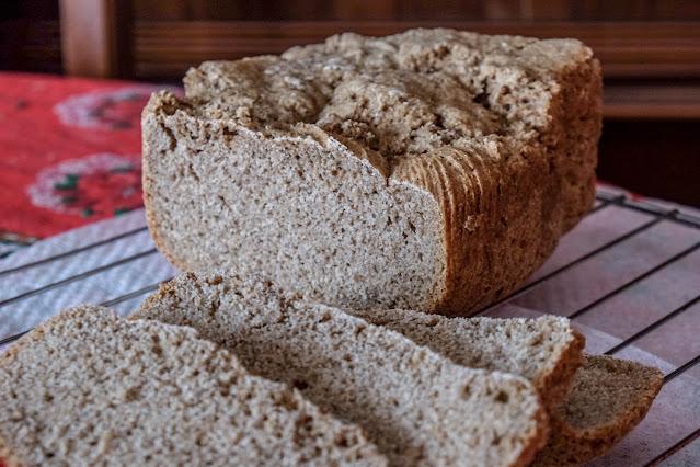 Impasto per pane con farina di segale