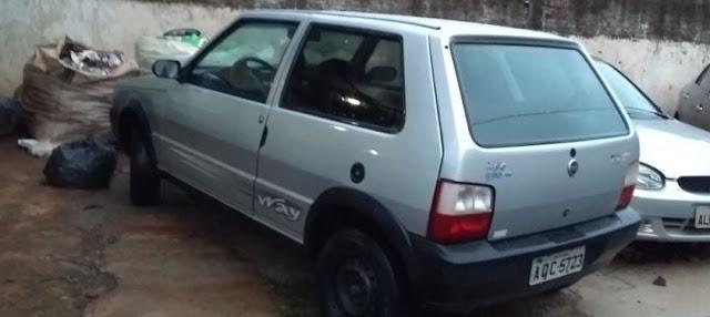 Veículo Uno furtado em Manoel Ribas é recuperado em Engenheiro Beltrão