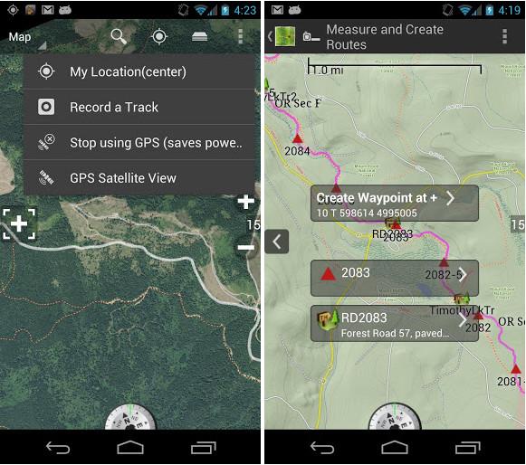 BackCountry Navigator TOPO GPS 6.0.5 Apk | AM Dynamic
