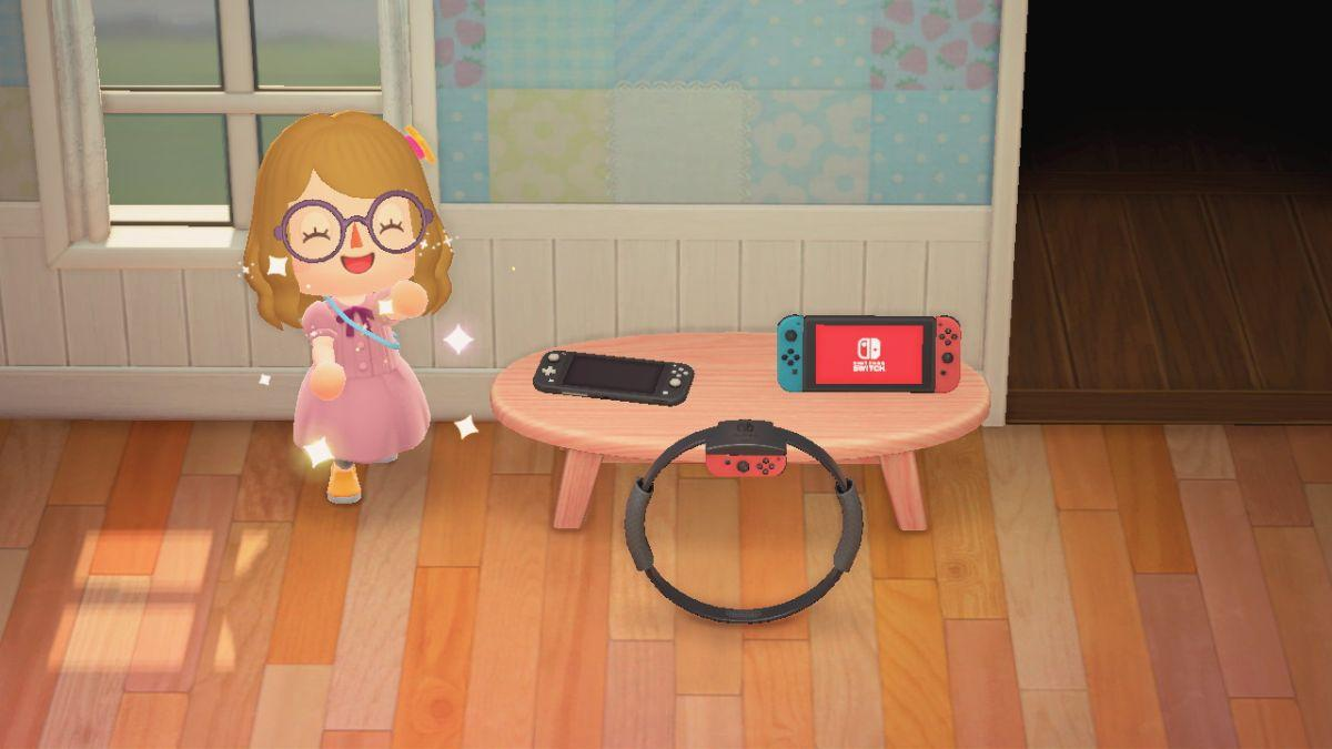 You can now buy a Switch Lite in Animal Crossing New Horizons, to decorate your game room