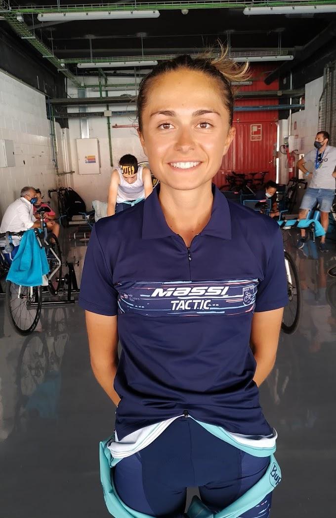 El equipo Massi - Tactic ficha a Martina Moreno