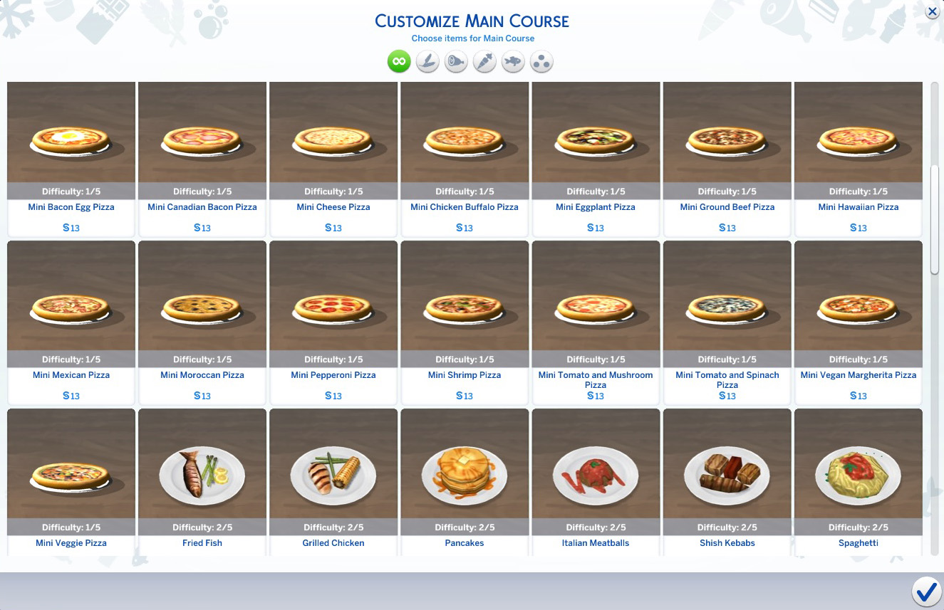 Sims  Custom Food Recipes Spaghetti