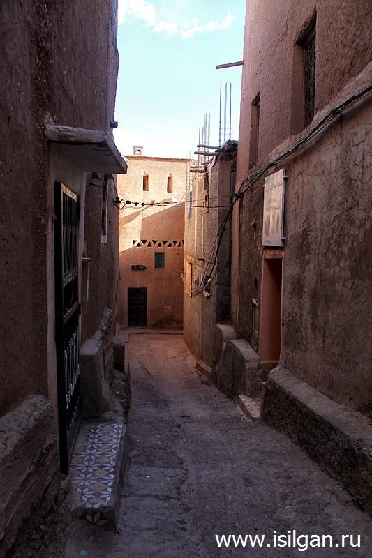 Город Уарзазат (Ouarzazate). Марокко